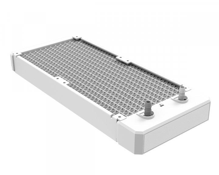 Система водяного охолодження ID-Cooling Iceflow 240 ARGB Snow, Intel: 2066/2011-3/2011/1200/1151/1150/1155/1156, AMD: AM4, 285х120х30 мм, 4-pin - зображення 1