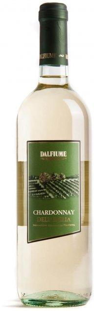 Вино Dalfiume Chardonnay Dell'emilia IGP белое сухое 0.75 л 11% (8008501000149) - изображение 1