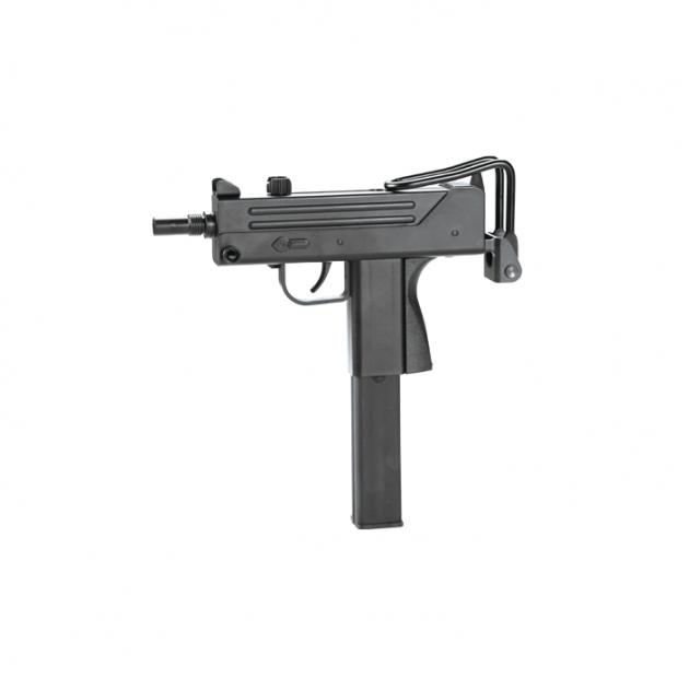 Пневматичний пістолет KWC Mini Uzi KM-55 HN Міні Узд пластик газобалонний CO2 120 м/с - зображення 1