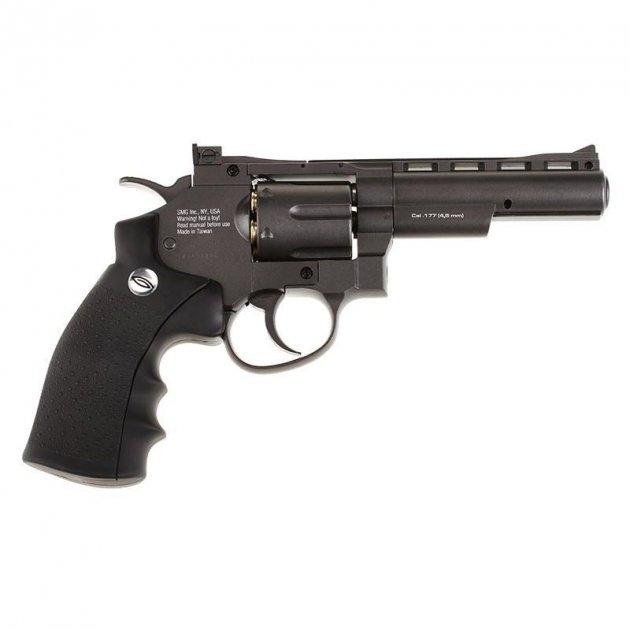 Пневматичний пістолет Gletcher SW B4 Smith & Wesson Сміт і Вессон газобалонний CO2 120 м/с - зображення 1