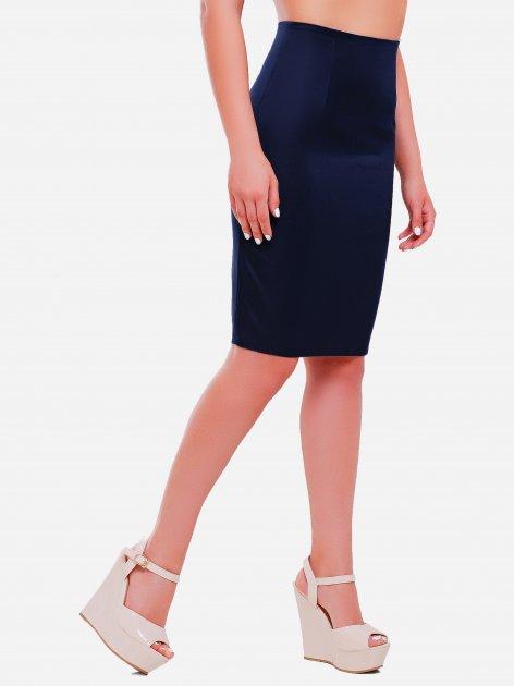 Юбка Fashion Up YUB-1052B 3XL (52) Темно-синяя (2100000193370) - изображение 1
