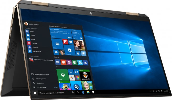 Ноутбук HP Spectre x360 Convertible 13-aw2004ua (423T5EA) Nightfall Black - изображение 1