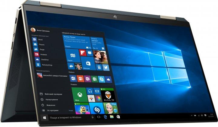 Ноутбук HP Spectre x360 Convertible 13-aw2006ua (423T7EA) Poseidon Blue - зображення 1