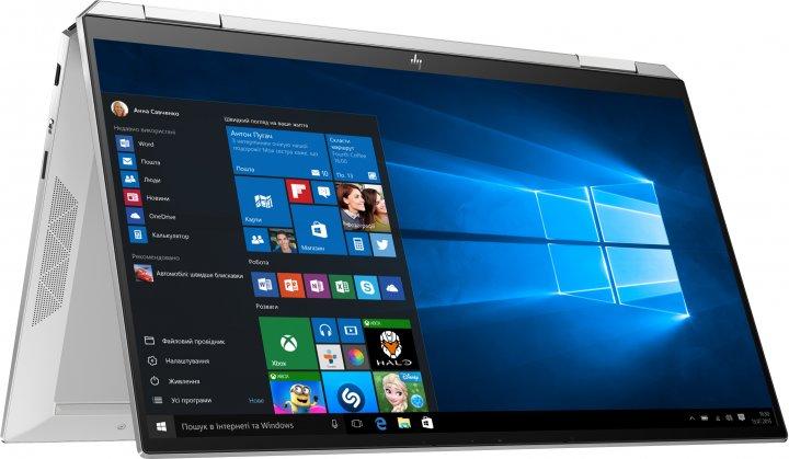 Ноутбук HP Spectre x360 Convertible 13-aw2008ua (423M8EA) Silver - изображение 1