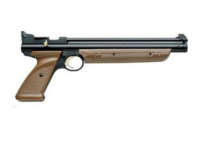 Пневматический пистолет Crosman 1377 American Classic - изображение 1