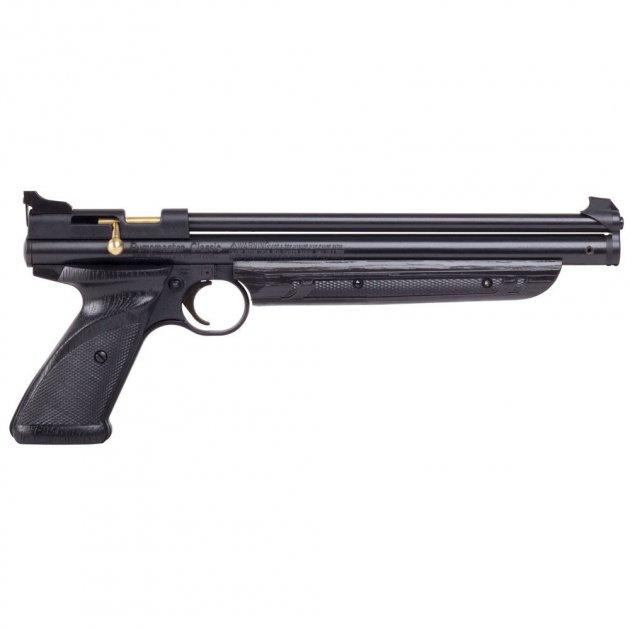 Пневматический пистолет Crosman American Classic (1377) Black - изображение 1