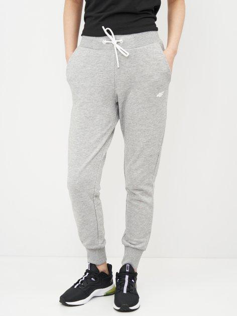 Спортивні штани 4F NOSH4-SPDD002-27M XS Cold Light Grey Melange (5903609089443) - зображення 1