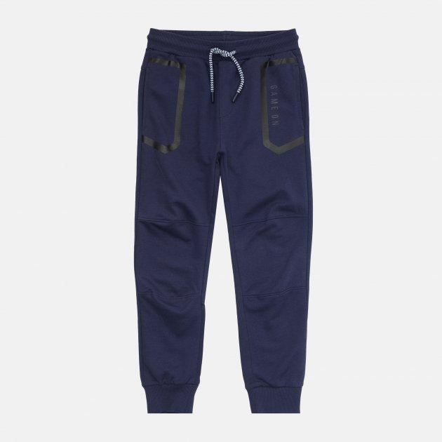 Спортивные штаны Coccodrillo Epic Gamer WC1120101EPI-015 158 см Синие (5904705515041) - изображение 1