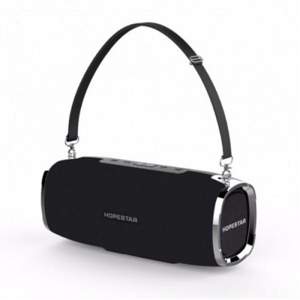 Мощная портативная bluetooth колонка Sound System A6 Pro Hopestar 35 Вт Black (00521) - изображение 1