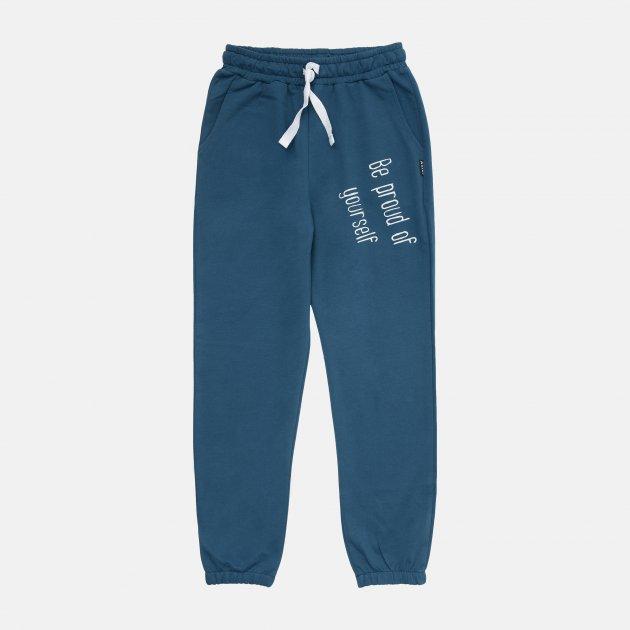 Спортивные штаны Hart Летняя коллекция 777 140 см Темно-лазурные (2130098601273) - изображение 1