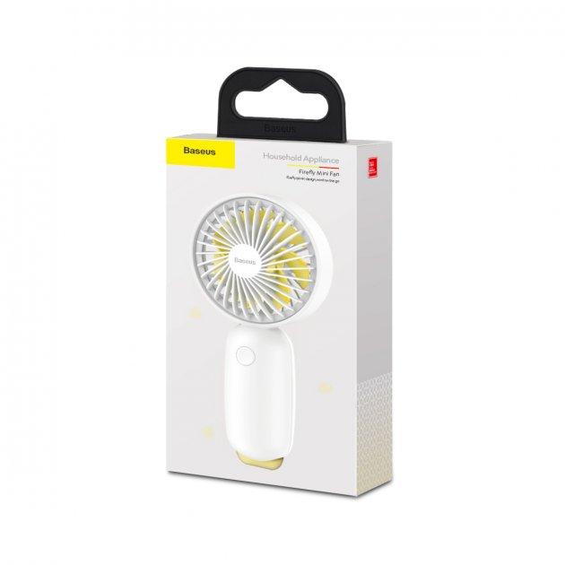 Портативный вентилятор BASEUS Firefly mini fan whie - изображение 1