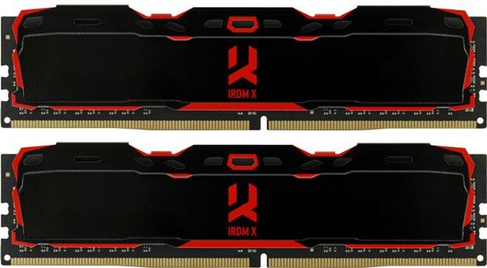 Оперативна пам'ять Goodram DDR4-3200 16384 MB PC4-25600 (Kit of 2x8192) IRDM X (IR-X3200D464L16SA/16GDC) - зображення 1