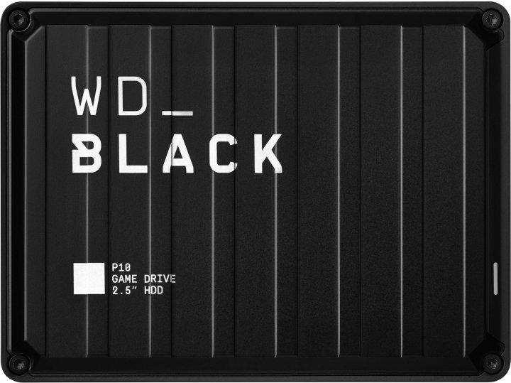 "Жесткий диск Western Digital WD BLACK P10 Game Drive 4TB WDBA3A0040BBK-WESN 2.5"" USB 3.2 External Black - изображение 1"