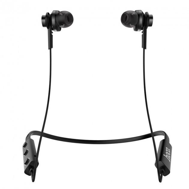 Наушники беспроводные Hoco SPORT ES18 Faery Sound Вакуумные наушники Bluetooth 4.2 гарнитура с микрофоном Black - изображение 1
