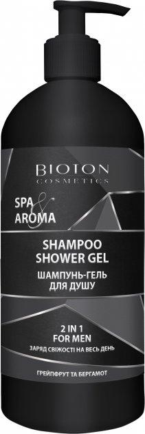 Шампунь-гель для душа 2 в 1 Bioton Cosmetics Spa&Aroma для мужчин 750 мл (4820026153308) - изображение 1