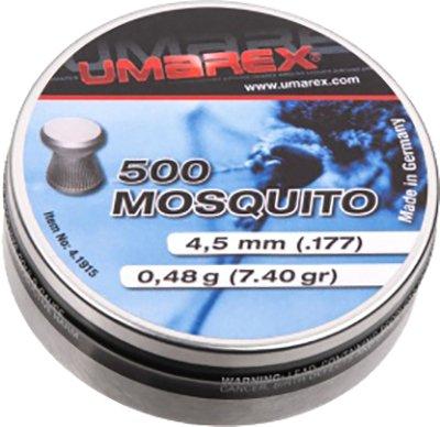 Свинцовые пули Umarex Mosquito 0.48 г калибр 4.5 (.177) 500 шт (4.1915) - изображение 1