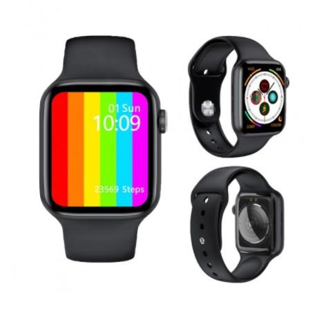 Смарт годинник IWO 13 Lite (w26) з вимірюванням кисню в крові, ЕКГ, термометром і тонометром (Чорний) - 922053 - зображення 1