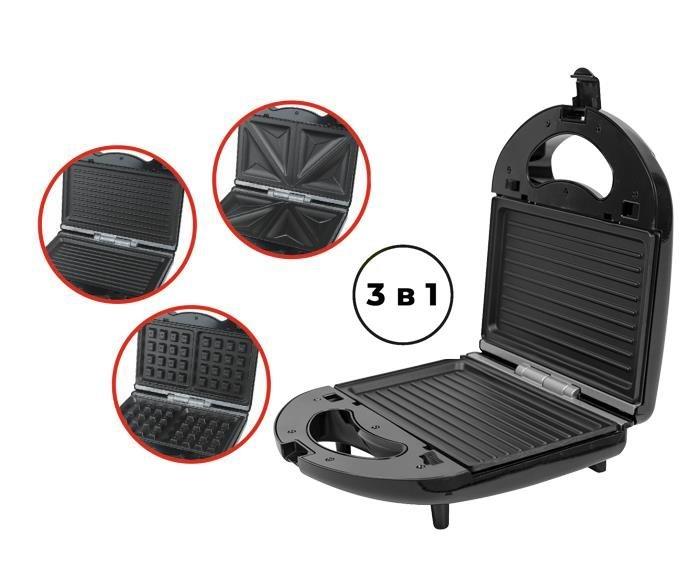 Бутербродниці і вафельниці ROTEX RSM220-B - зображення 1
