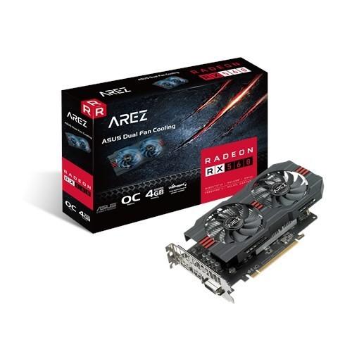 Видеокарта AMD Radeon RX 560 4GB GDDR5 OC Asus (RX560-O4G) refurbished - изображение 1