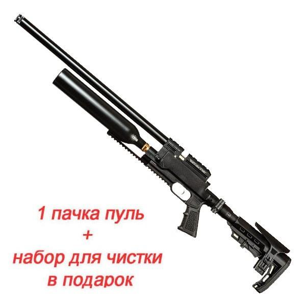 Гвинтівка пневматична Kral Jambo Dazzle PCP Synthetic Black 4.5 мм - зображення 1