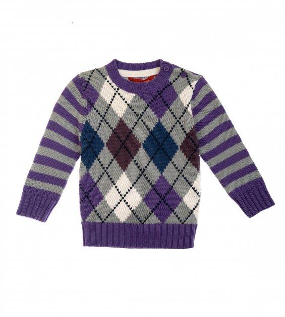Светр Losan Mc baby boys (027-5005AC/124) Темно-фіолетовий M6-68 см - зображення 1