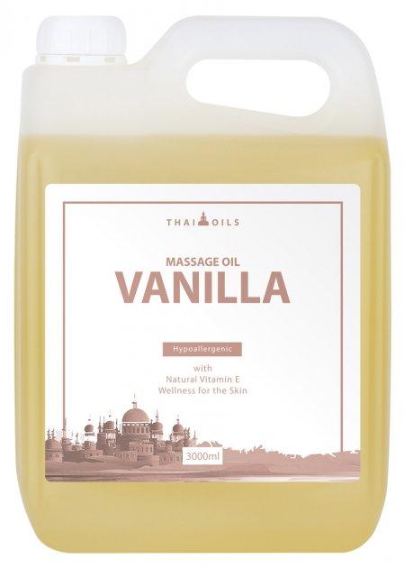 Профессиональное массажное масло «Vanilla» 3000 ml - изображение 1