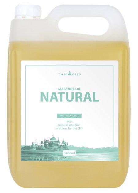 Профессиональное массажное масло «Natural» 5000 ml - изображение 1