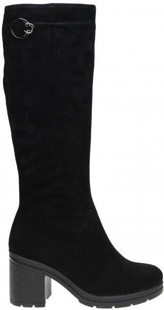 Сапоги Kento 6260 замша 36 24 см Черные (2000000106359) - изображение 1