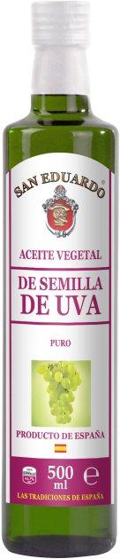 Масло из косточек винограда San Eduardo 500 мл (5060235658907) - изображение 1
