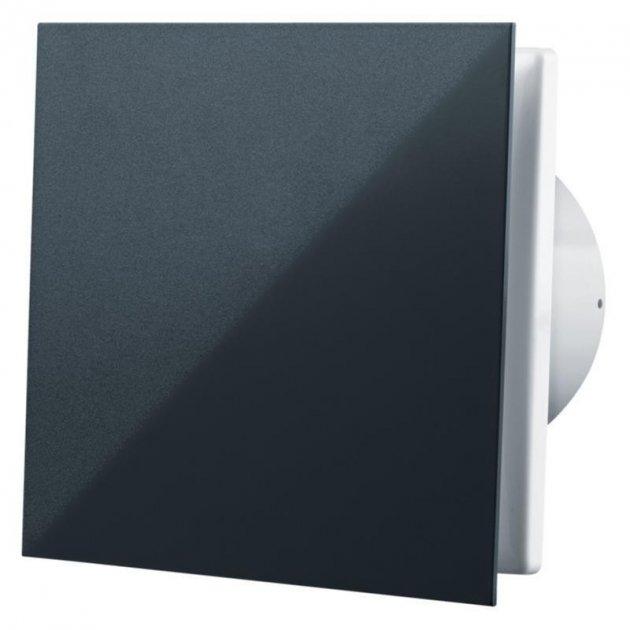 Витяжний вентилятор Vents 100 Ейс Чорний сапфір - зображення 1