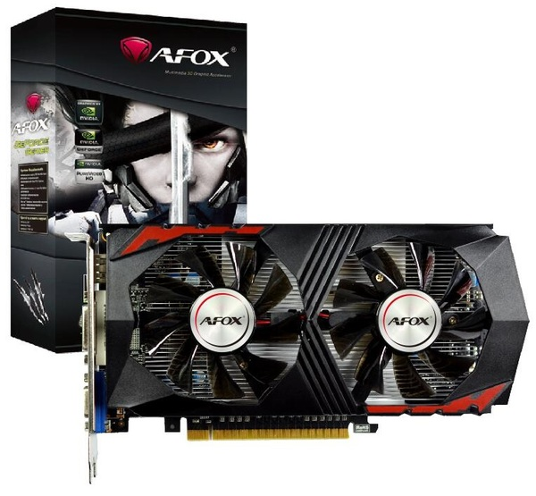 Видеокарта AFOX 2Gb DDR5 128Bit AF750TI-2048D5H5-V7 PCI-E - зображення 1