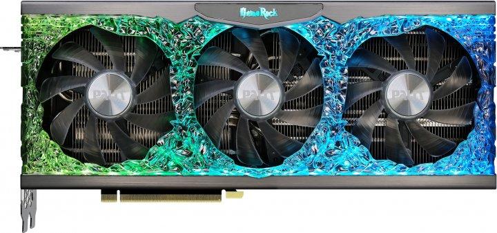 Palit PCI-Ex GeForce RTX 3080 Ti GameRock OC 12GB GDDR6X (384bit) (1365/19000) (HDMI, 3 x DisplayPort) (NED308TT19KB-1020G) - зображення 1