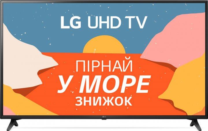 Телевізор LG 60UN71006LB - зображення 1