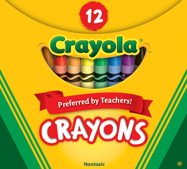 Набор восковых мелков Crayola 12 шт (256239.072) (0071662000127)