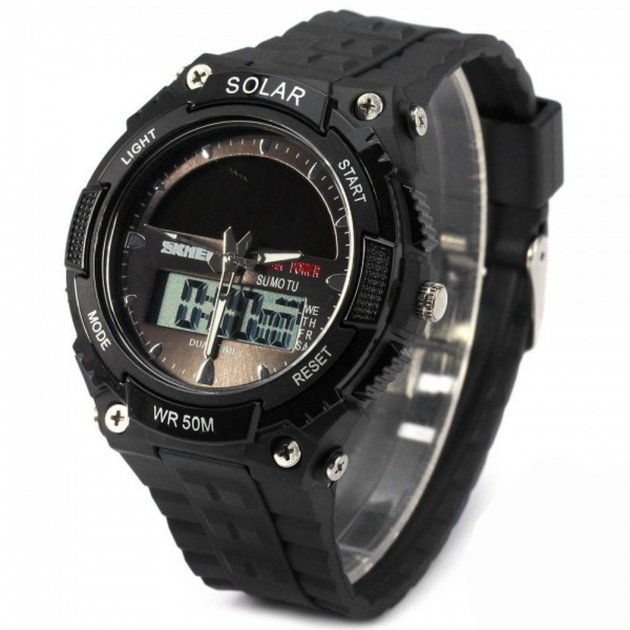 Чоловічі спортивні годинник Skmei 1049 (1049BOXBK) - зображення 1
