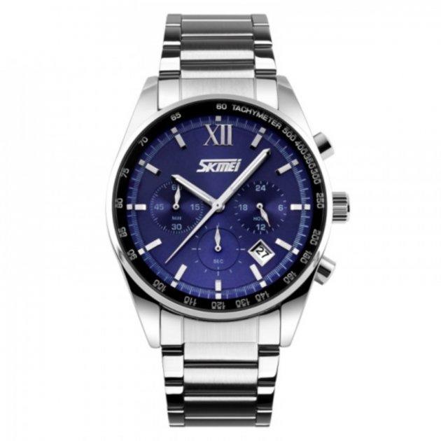 Чоловічі годинники Skmei 9096CS Blue BOX (9096CSBOXBL) - зображення 1