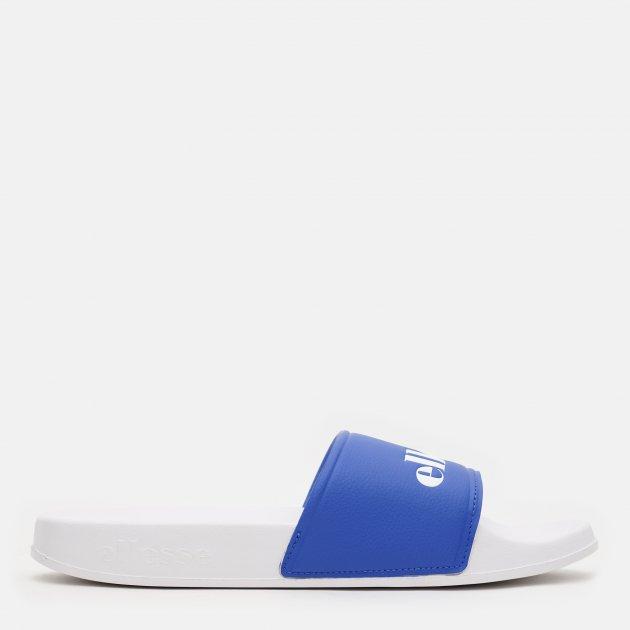 Шлепанцы Ellesse Filippo Synt Am 617187-BLUWHT 42 (8 UK) 26.5 см Белые с синим (5059502096481)