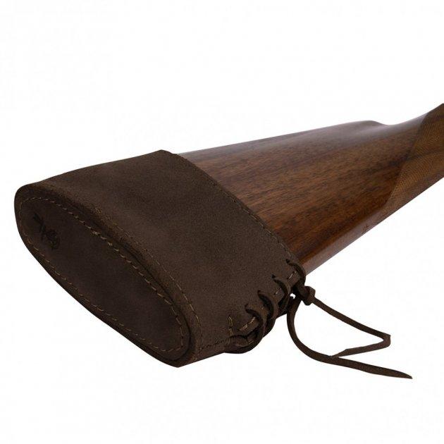 Шкіряний Тыльник на приклад Рушниці Bronzedog Коричневий (10020/2) - зображення 1