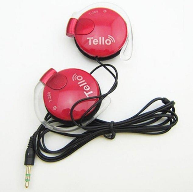 Наушники накладные Tello Т280 Red - изображение 1