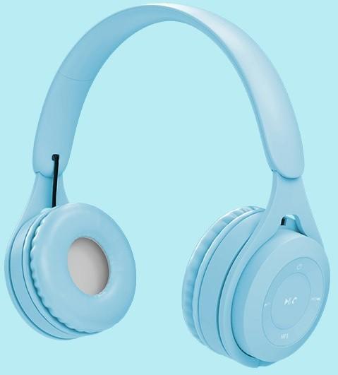 Беспроводные наушники VJ Y08 Blue - изображение 1