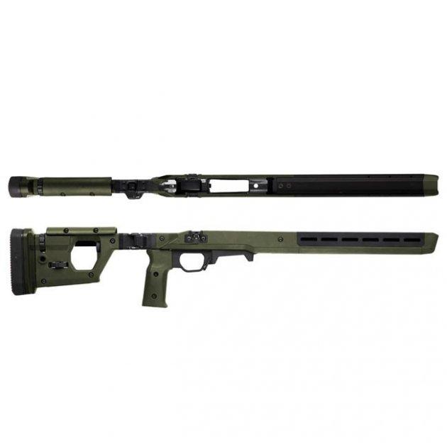 Ложа Magpul PRO 700 для Remington 700 Short Action. Колір - Оліва - зображення 1