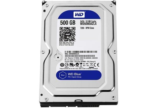 """Жорсткий диск 3.5"""" 500GB WD5000AZLX Factory Recertified - зображення 1"""