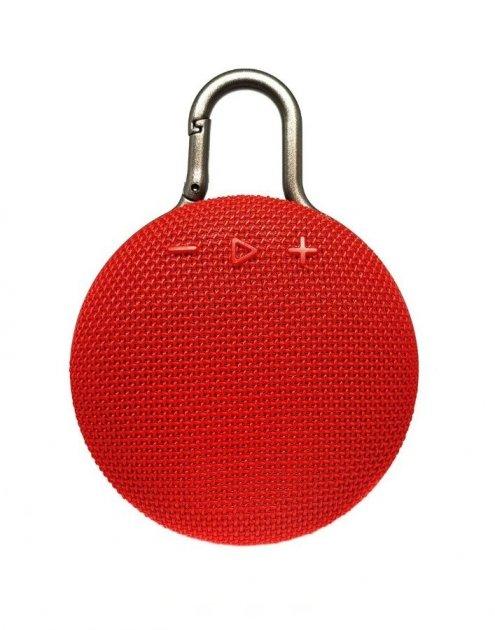 Бездротова колонка Clip 3 Bluetooth red - зображення 1