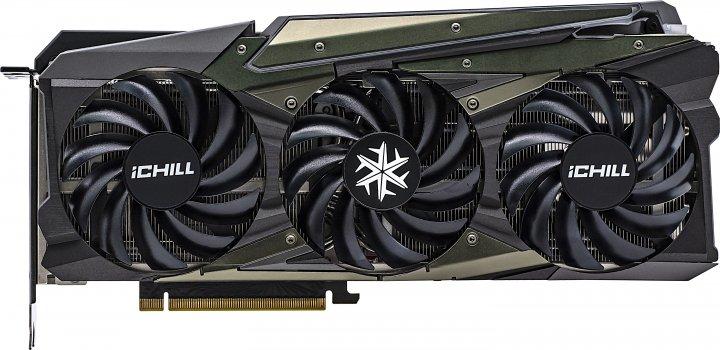 INNO3D PCI-Ex GeForce RTX 3080 Ti iChill X3 OC 12GB GDDR6X (384bit) (1710/19000) (HDMI, 3 x DisplayPort) (C308T3-126XX-1810VA37) - зображення 1