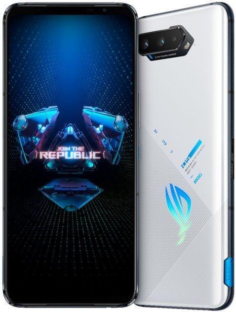 Мобільний телефон Asus ROG Phone 5 16/256 GB White (ZS673KS-1B015EU) - зображення 1