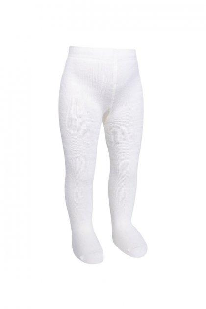 Дитячі колготки для новонароджених махра Bross Туреччина зростання 62 - 68 см білі 14711 - зображення 1