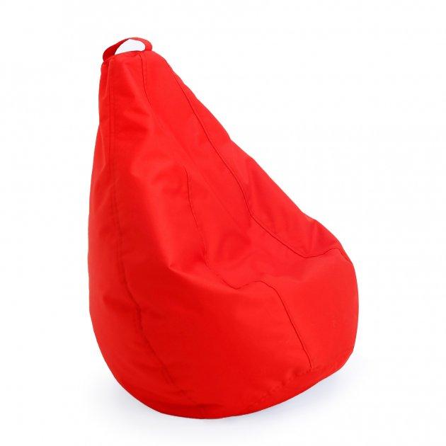 Крісло груша мішок дитяче Prolisok червоний 60х80 (S) Oxford 600d PU - зображення 1