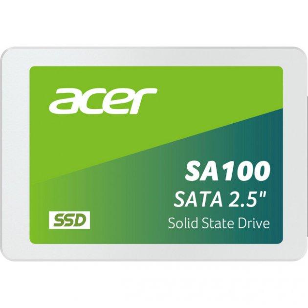"""Накопичувач SSD 2.5"""" 960GB Acer (SA100-960GB) - зображення 1"""