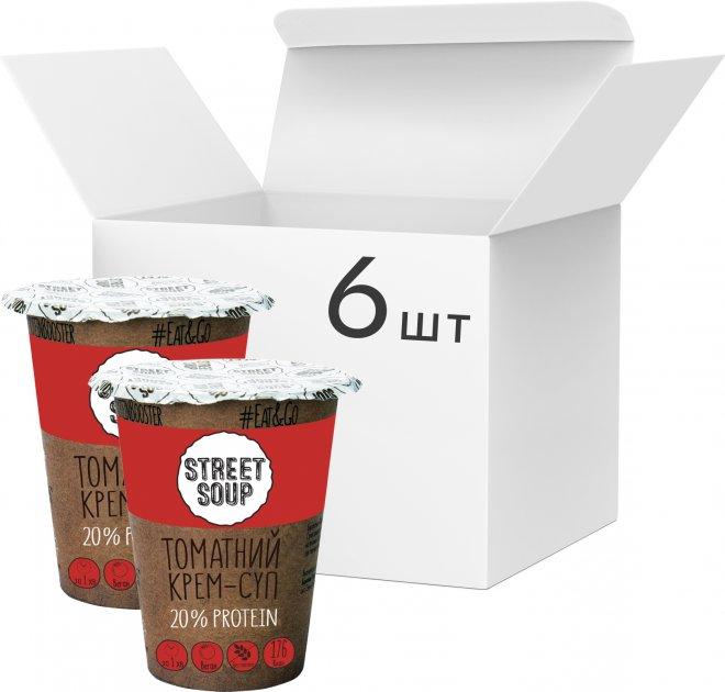 Упаковка крем-супа Street Soup Томатного 50 г х 6 шт (8768137287344) - изображение 1
