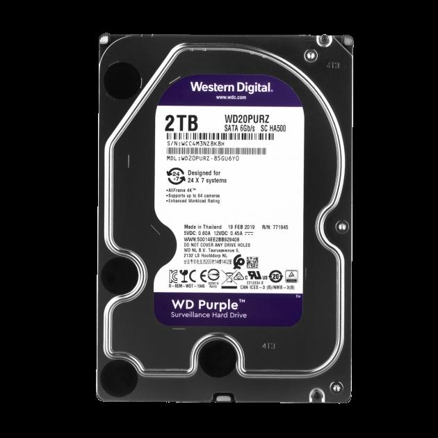 Жесткий диск Western Digital 2TB Purple - изображение 1